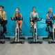 Four women are cycling at the fitness center - PhotoDune Item for Sale