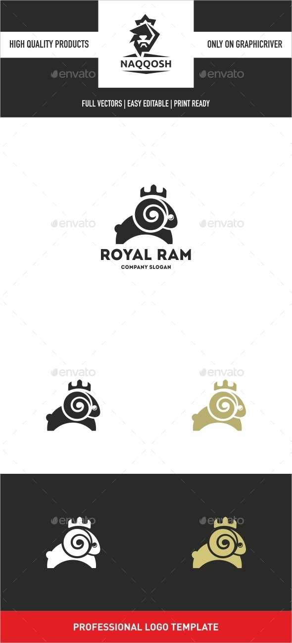 GraphicRiver Royal Ram 10638731