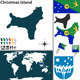 Map of Christmas Island - GraphicRiver Item for Sale