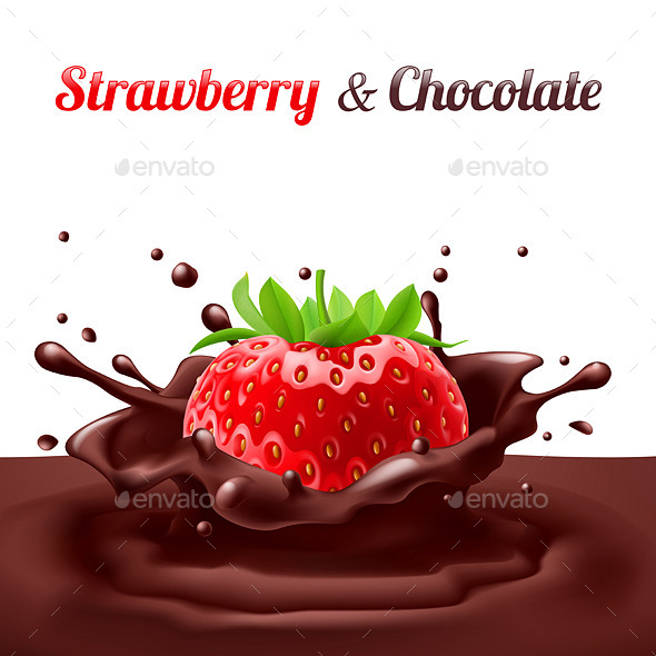 GraphicRiver Strawberry and Chocolate 10638967