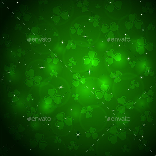 GraphicRiver Patricks Day Background 10638970