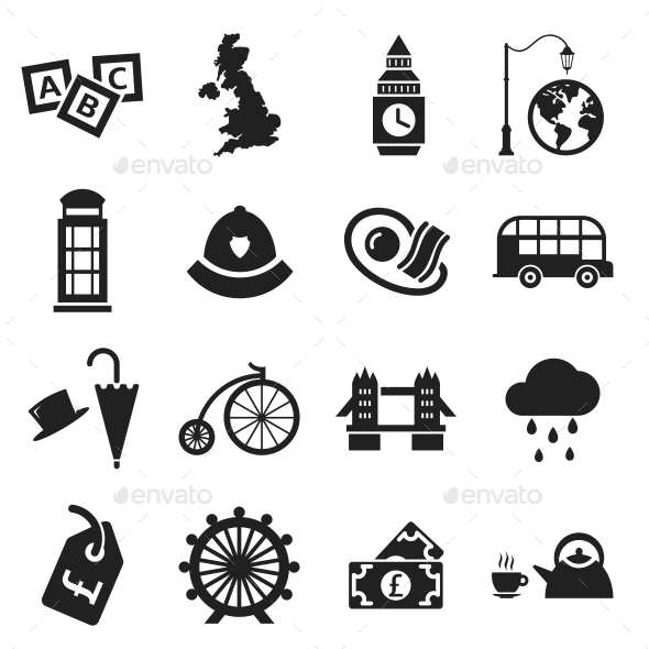 GraphicRiver London Icons 10639012