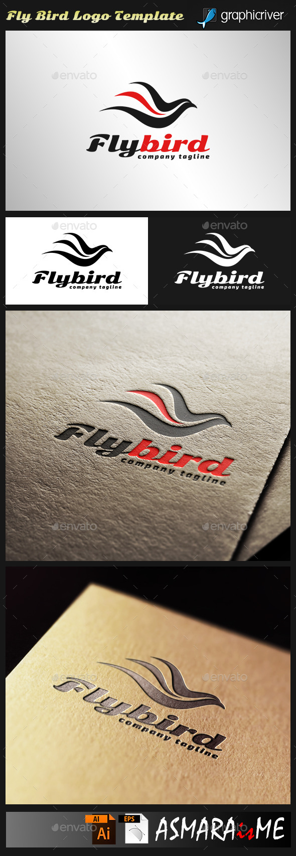 GraphicRiver Fly Bird 10639442