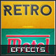 Retro Text Effects - GraphicRiver Item for Sale