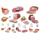 Sausages and Meat Cartoon Characters - GraphicRiver Item for Sale