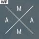 MAMA - Creative Minimal Portfolio WordPress Theme - ThemeForest Item for Sale