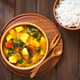 Pumpkin, Mangold and Potato Curry Dish - PhotoDune Item for Sale
