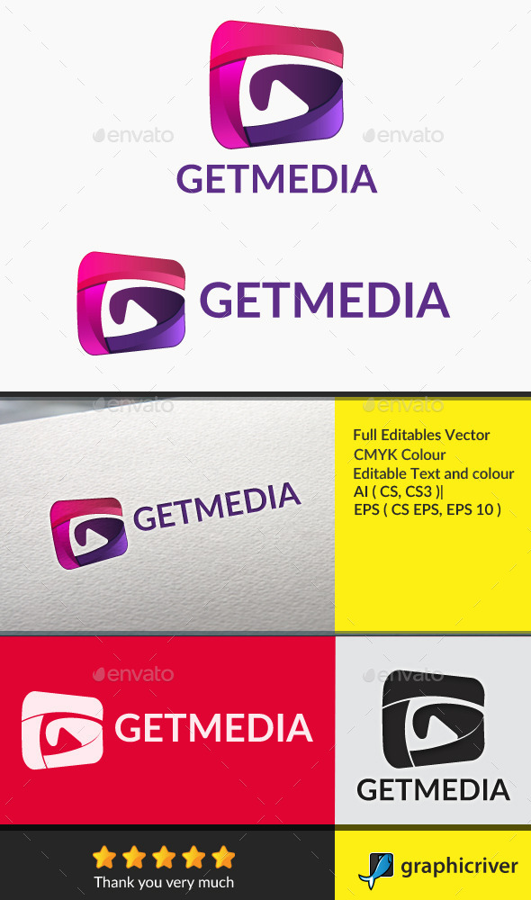 GraphicRiver Getmedia Letter G 10640230