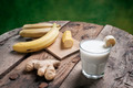 Banana Smoothie with ginger - PhotoDune Item for Sale