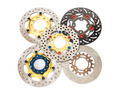 Isolated group of new disc brake for motorcycle - PhotoDune Item for Sale