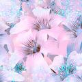 Elegant Floral Pattern in Light Cold Tones - PhotoDune Item for Sale