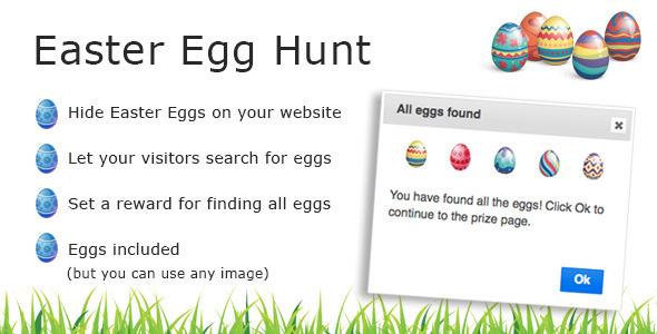 CodeCanyon Easter Egg Hunt 10640480