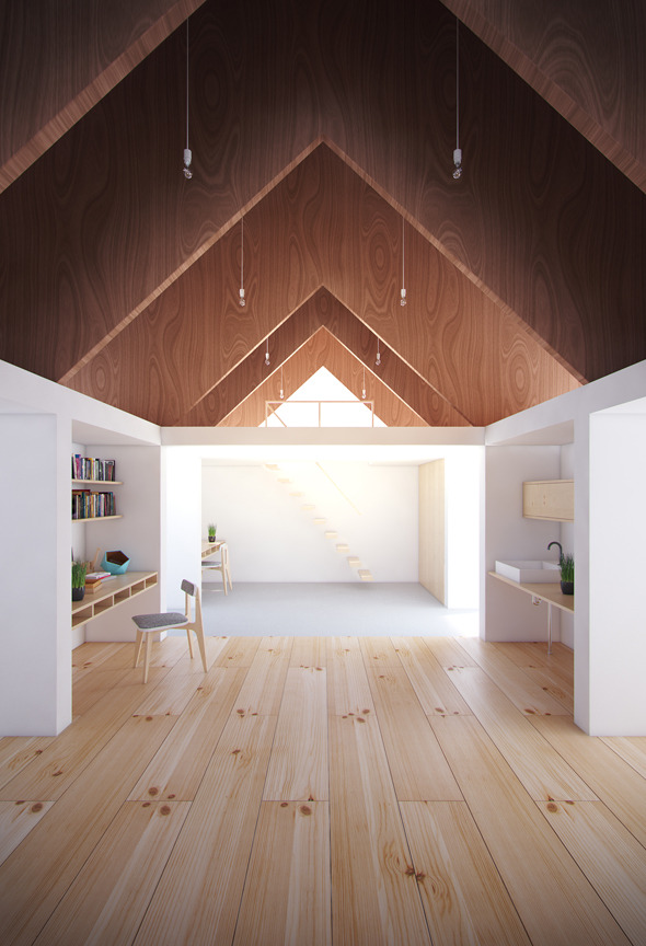 koya no sumika house - 3dsmax 2010 vray 2.0 - 3DOcean Item for Sale