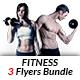 Fitness Flyer Bundle Print Templates - GraphicRiver Item for Sale