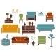 Furniture and Interior Design Elements - GraphicRiver Item for Sale