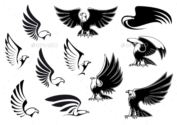 GraphicRiver Eagles 10640583
