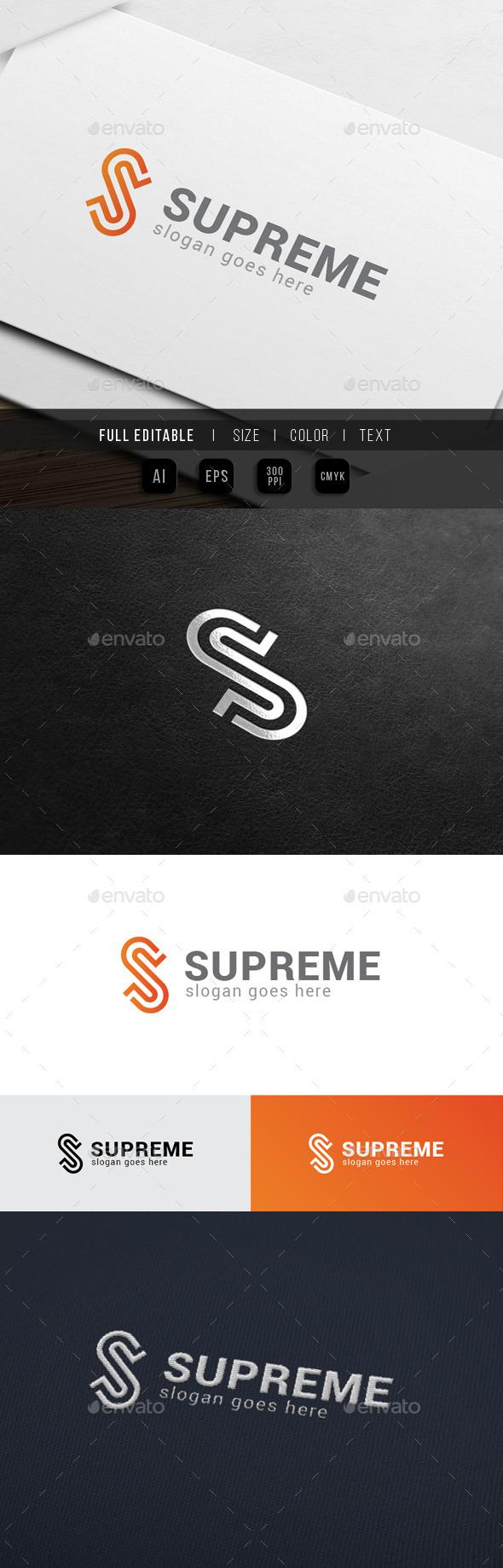 GraphicRiver Super Supreme Letter S 10640591