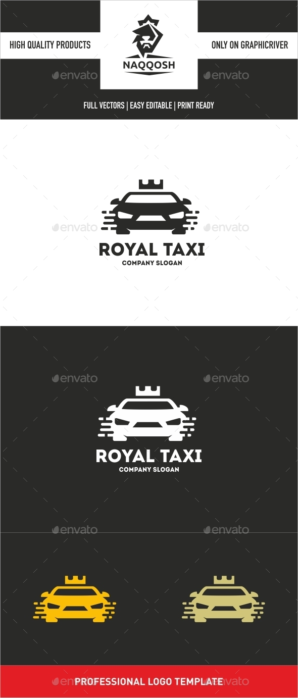 GraphicRiver Royal Taxi 10640597