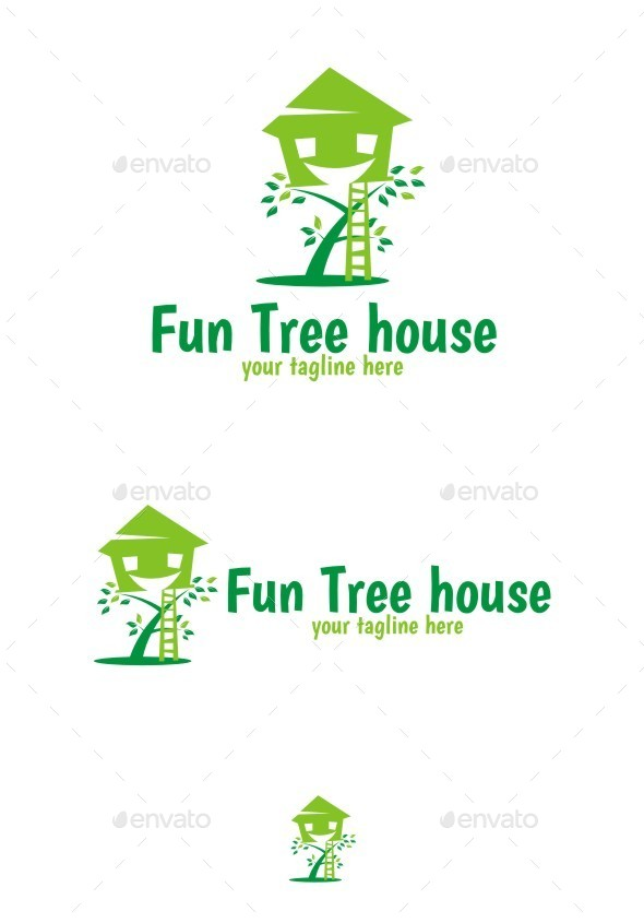 GraphicRiver Fun Tree Logo 10585882