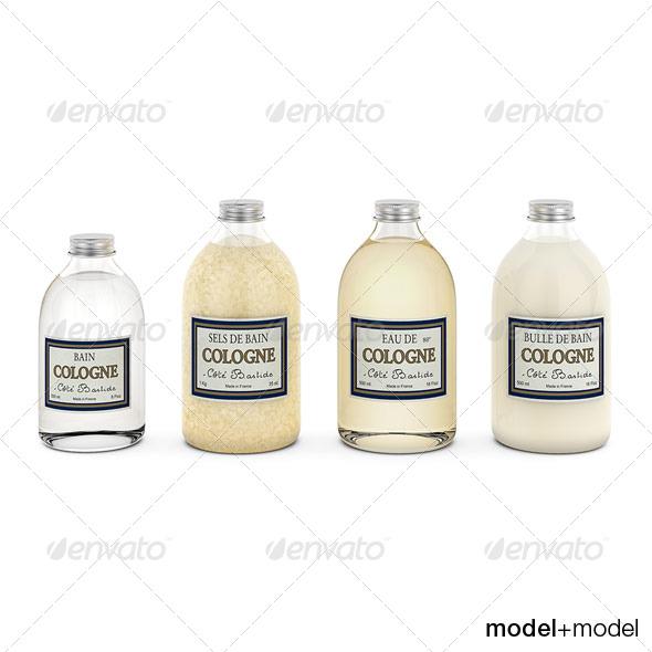 3DOcean Cote Bastide bath set 133278