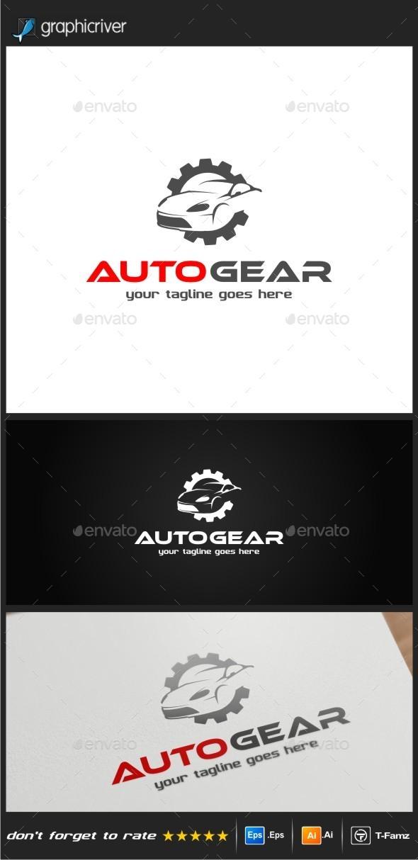 GraphicRiver Auto Gear Logo Templates 10641210