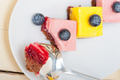 strawberry and mango mousse dessert cake - PhotoDune Item for Sale