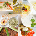 Arab middle eastern food collage - PhotoDune Item for Sale