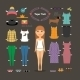 Paper Doll Dress Up  - GraphicRiver Item for Sale
