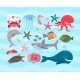 Sea Animals  - GraphicRiver Item for Sale
