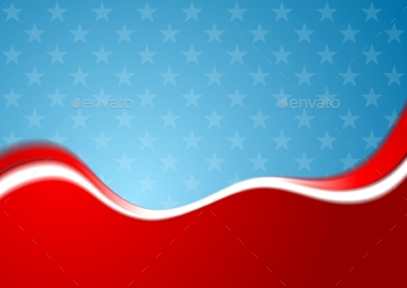 GraphicRiver Abstract USA Background 10641500
