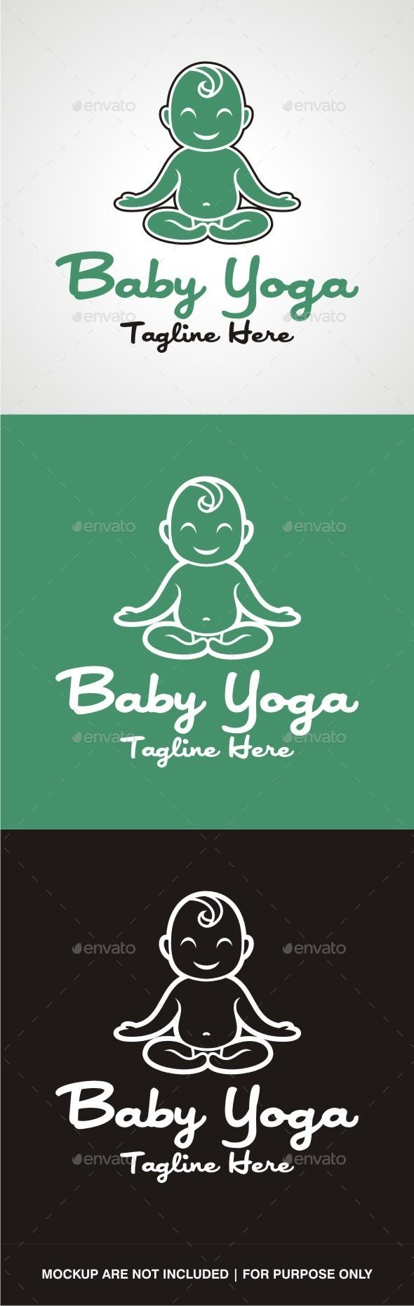GraphicRiver Baby Yoga 10641566