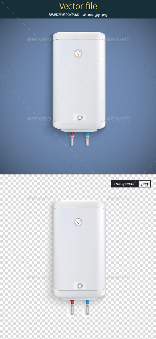 GraphicRiver Electric Water Heater 10641666