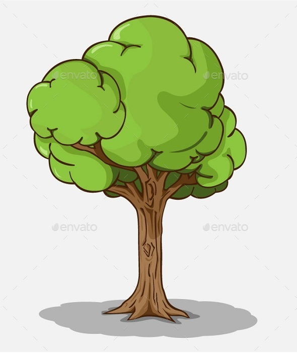 GraphicRiver Isolated Tree 10641708