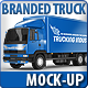 Commercial Truck Carrier Mock-Up - GraphicRiver Item for Sale