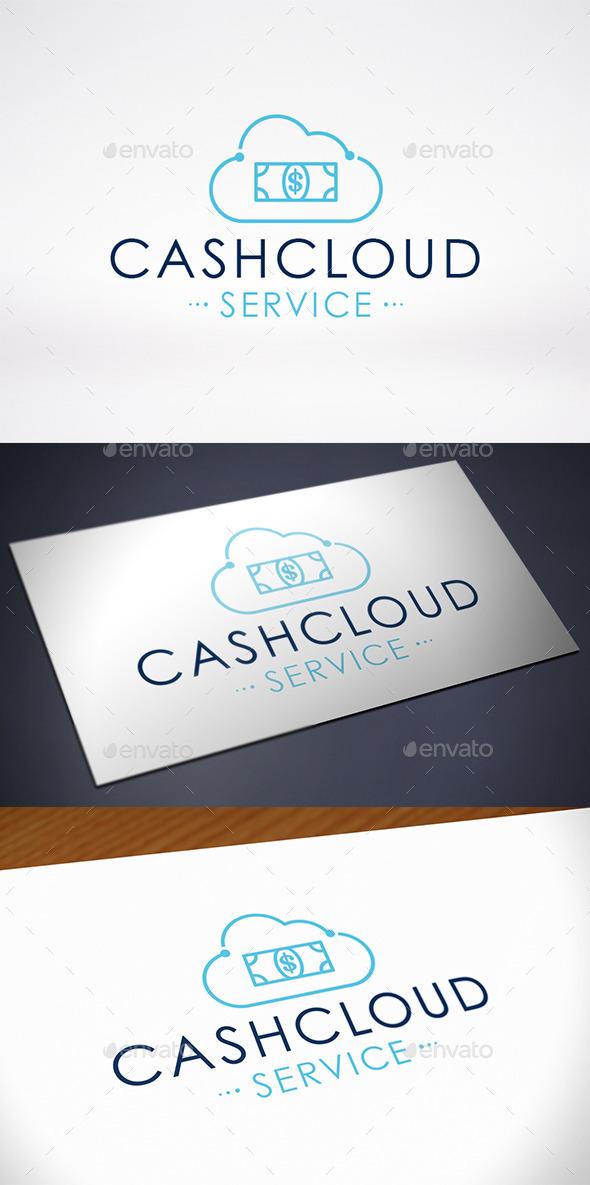GraphicRiver Money Cloud Logo Template 10642089