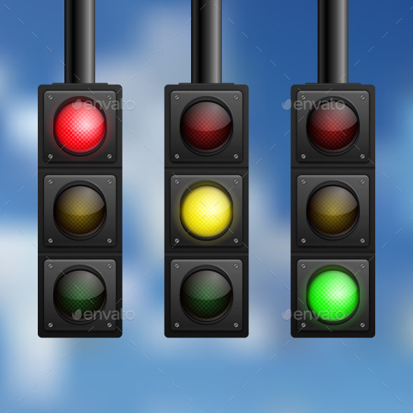 GraphicRiver Traffic Lights 10642319