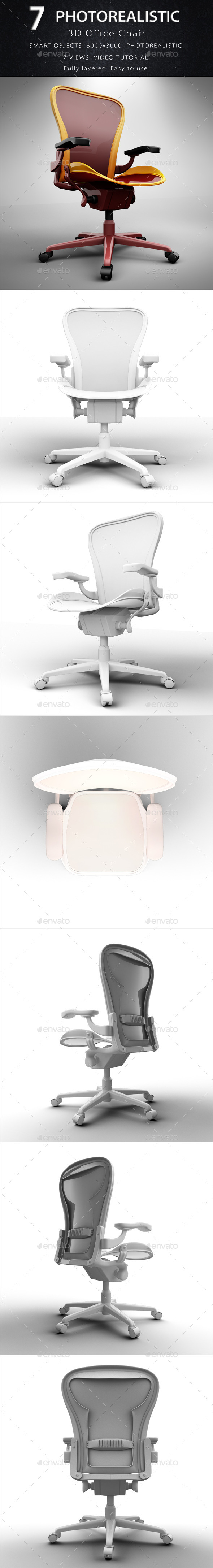 GraphicRiver Office Chair 10642375