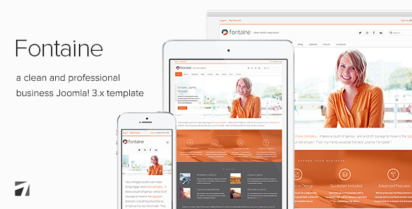 Fontaine - Clean Business Joomla Template - Business Corporate