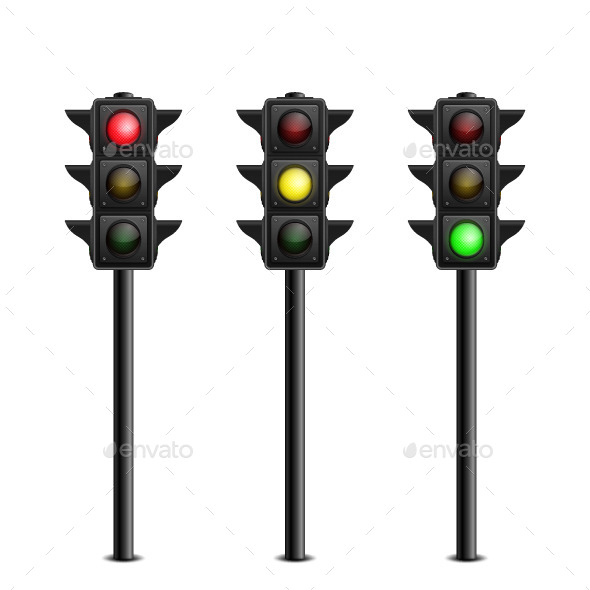 GraphicRiver Traffic Lights 10642532