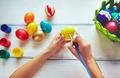 Making Easter eggs - PhotoDune Item for Sale