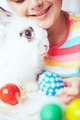 Girl and her Easter pet - PhotoDune Item for Sale