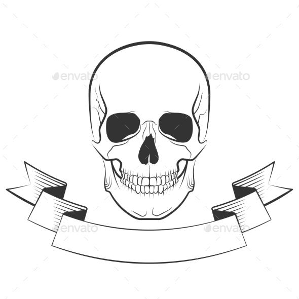 GraphicRiver Skull 10642594