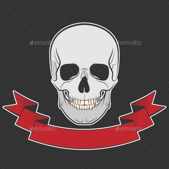 GraphicRiver Skull 10642600