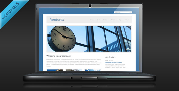 Venturex - Minimalist Business WordPress Theme