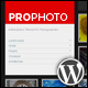 WP ProPhoto - A Wordpress Theme For Photographers - ThemeForest Item for Sale