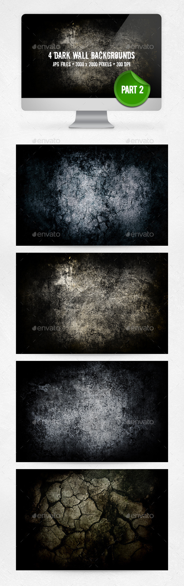 GraphicRiver Dark Wall Backgrounds Part 2 10642839