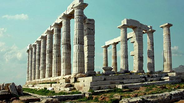 Sounion Temple Poseidon