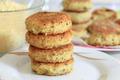 Vegan sea burger patties closeup background - PhotoDune Item for Sale