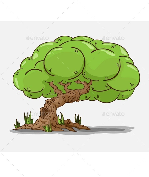 GraphicRiver Isolated Tree 10643149