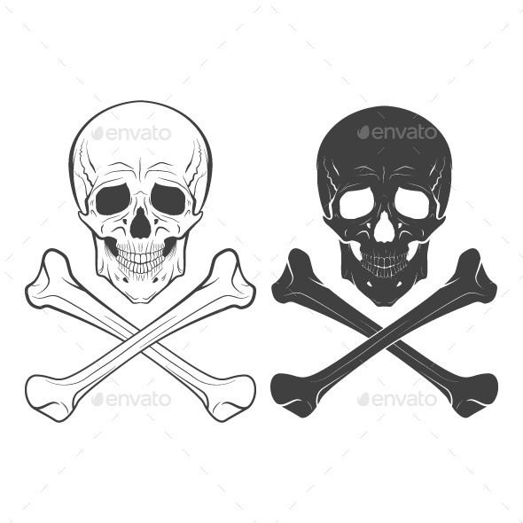 GraphicRiver Skull and Bones 10643166